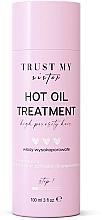 Perfumería y cosmética Aceite de cabello de porosidad alta con aceites de semilla de algodón y cáñamo - Trust My Sister High Porosity Hair Hot Oil Treatment
