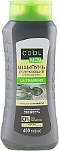 Perfumería y cosmética Champú refrescante con mentol y aceite de almendras - Cool Men Ultramint