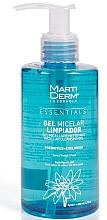 Perfumería y cosmética Gel micelar limpiador para rostro - MartiDerm Essentials Micellar Cleansing Gel