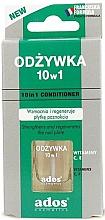 Perfumería y cosmética Acondicionador de uñas con vitaminas, 10en1 - Ados 10in1 Conditioner