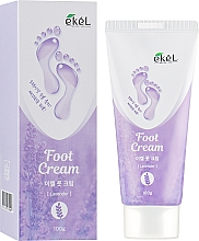 Perfumería y cosmética Crema para pies con extracto de lavanda - Ekel Foot Cream