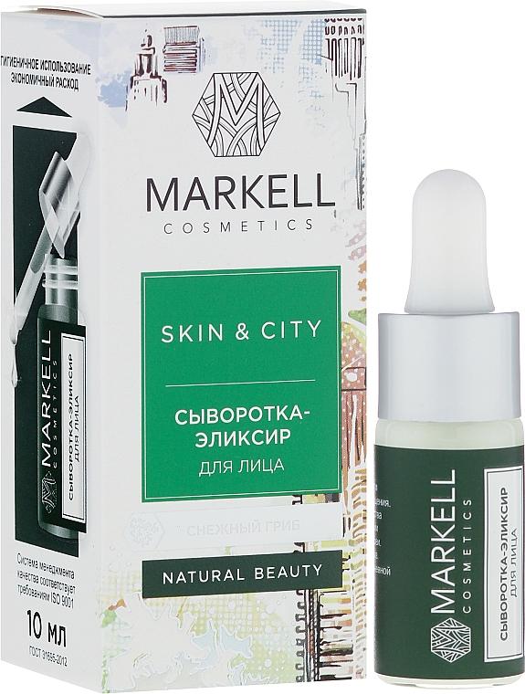 Sérum-elixir facial con extracto de seta de nieve - Markell Cosmetics Skin&City