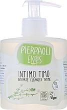 Perfumería y cosmética Jabón antibacteriano para la higiene íntima con extracto de tomillo orgánico - Ekos Personal Care Thyme Intimate Cleanser (con dispensador)