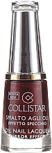 Perfumería y cosmética Esmalte de uñas efecto espejo - Collistar Oil Nail Lacquer Mirror Effect
