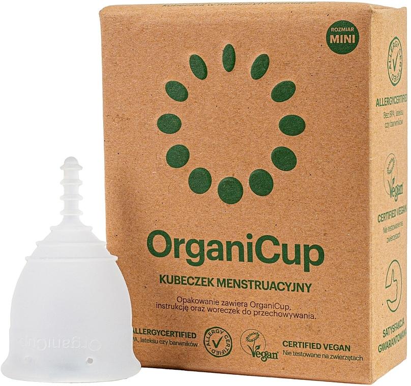 Copa menstrual, tamaño mini - OrganiCup