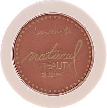 Perfumería y cosmética Colorete compacto - Lovely Natural Beauty Blusher