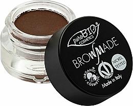 Perfumería y cosmética Pomada para cejas, acabado mate - PuroBio Cosmetics BrowMade Brow Pomade