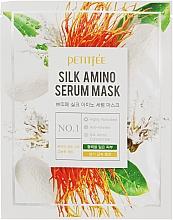 Perfumería y cosmética Mascarilla facial de algodón con aminoácidos de seda - Petitfee&Koelf Silk Amino Serum Mask