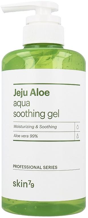 Gel calmante para rostro, cabello y cuerpo con aloe vera - Skin79 Jeju Aloe Aqua Soothing Gel
