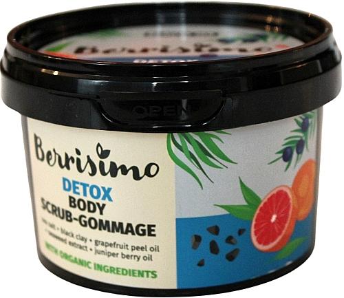 Exfoliante corporal detoxificante de sal marina y arcilla negra - Berrisimo Detox Body Scrub-Gommage