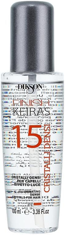 Cristales líquidos para cabello iluminadores - Dikson Keiras Finish 15 Cristalli Densi
