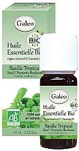 Perfumería y cosmética Bio aceite esencial de albahaca tropical 100% - Galeo Organic Essential Oil Basilic Tropical