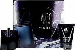 Perfumería y cosmética Mugler Alien Man Gift Set - Set (eau de toilette/50ml+champú para cabello y cuerpo/50ml)