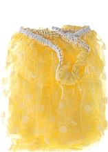 Perfumería y cosmética Gorro de ducha con lunares, 9298, amarillo - Donegal
