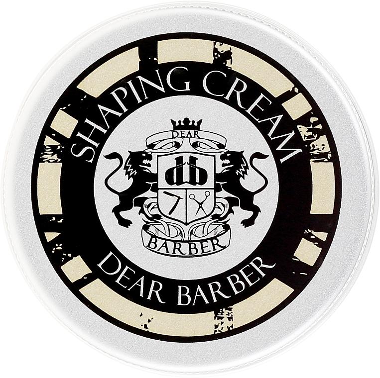 Crema moldeadora de cabello con aceite de aguacate - Dear Barber Shaping Cream (mini) — imagen N1