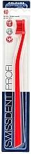 Perfumería y cosmética Cepillo dental de dureza suave-media, rojo - SWISSDENT Profi Colours Soft-Medium Toothbrush Red&Red