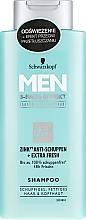 Perfumería y cosmética Champú anticaspa con zinc, alantoína & pantenol - Schwarzkopf Men Deep Effect 3 Zinc Anti-Dandruff+Oil Control Shampoo