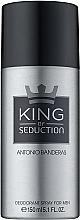 Perfumería y cosmética Antonio Banderas King of Seduction - Desodorante spray