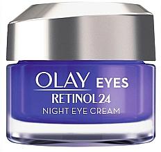 Perfumería y cosmética Crema de noche para contorno de ojos - Olay Regenerist Retinol24 Nigh Eye Cream