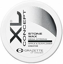 Perfumería y cosmética Cera para cabello matificante con extracto de manzana verde natural y girasol - Grazette XL Concept Stone Wax