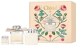 Perfumería y cosmética Chloe Eau de Parfum - Set (eau de parfum/75ml + loción corporal/100ml + eau de parfum/mini/5ml)