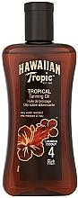 Perfumería y cosmética Aceite bronceador resistente al agua - Hawaiian Tropic Tropical Tanning Oil Coconut SPF 4