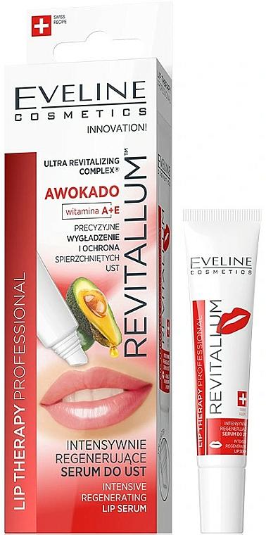 Sérum labial regenerador con aceite de aguacate - Eveline Cosmetics Lip Therapy Professional Awocado Intensive Lip Serum