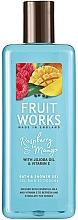 Perfumería y cosmética Gel de ducha, frambuesa & mango - Grace Cole Fruit Works Raspberry & Mango