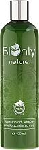 Perfumería y cosmética Champú bio con extracto de té verde, proteínas de trigo y aceites esenciales - BIOnly Nature Shampoo For Greasy Hair