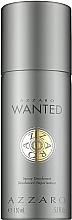 Perfumería y cosmética Azzaro Wanted - Desodorante en spray