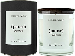 Perfumería y cosmética Vela aromática, cachemira - Ambientair The Olphactory Pause Cashmere Black Design