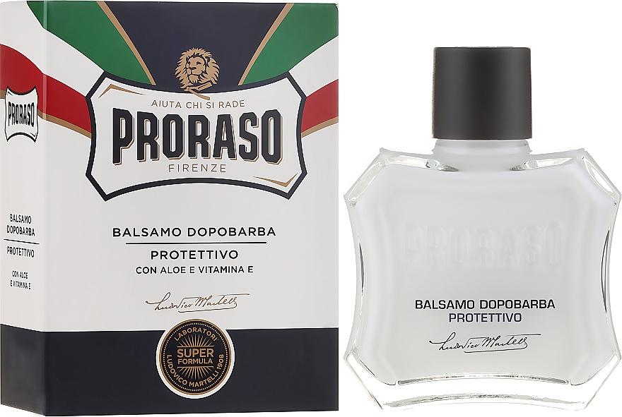 Bálsamo aftershave con jugo de aloe y vitamina E - Proraso Blue Line After Shave Balm Super Formula