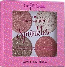 Perfumería y cosmética Paleta de coloretes & iluminadores - I Heart Revolution Sprinkles