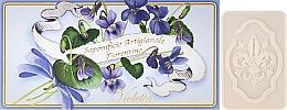 Perfumería y cosmética Set jabón artesanal natural con aroma a violeta, 3uds. - Saponificio Artigianale Fiorentino Violet