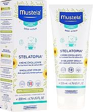 Perfumería y cosmética Crema para pieles propensas a eczema de bebés con aguacate - Mustela Stelatopia Emollient Cream With Sunflower