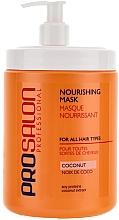 Perfumería y cosmética Mascarilla capilar nutritiva con extracto de coco - Prosalon Hair Care Mask