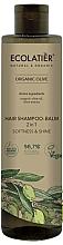 Perfumería y cosmética Champú acondicionador 2en1 vegano con aceite de oliva orgánico y extracto de oliva - Ecolatier Organic Olive Hair-Shampoo Balm