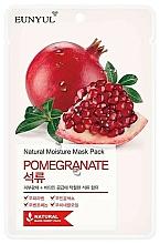 Perfumería y cosmética Mascarilla facial de tejido hidratante con extracto de granada - Eunyul Natural Moisture Pomegranate Mask