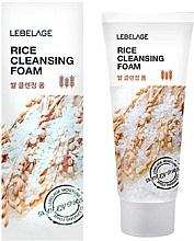 Perfumería y cosmética Espuma facial limpiadora con extracto de arroz - Lebelage Rice Cleansing Foam