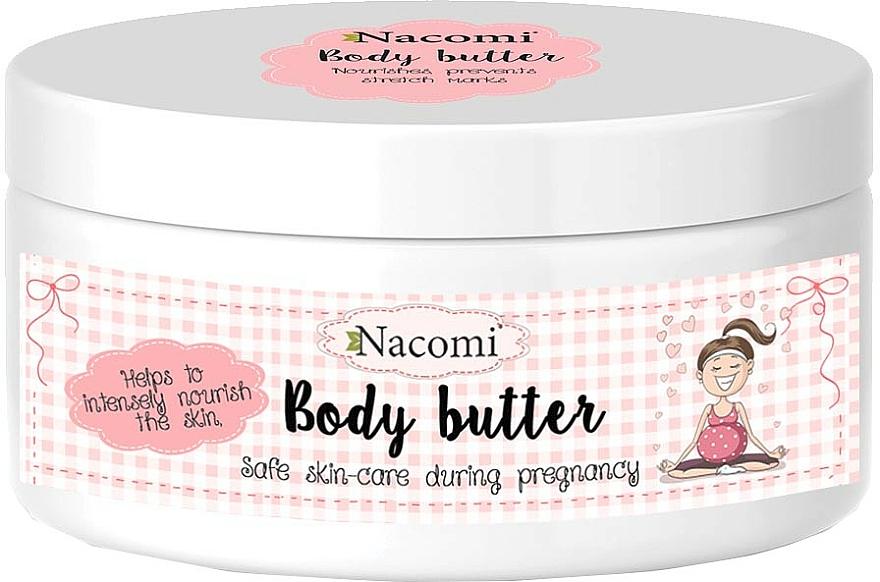 Manteca intensiva de cacao, aceite de argán y almendra - Nacomi Pregnant Care Intensive Body Butter