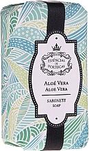 Perfumería y cosmética Jabón natural artesanal con extracto de aloe vera - Essencias De Portugal Natura Aloe Vera Soap
