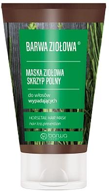 Mascarilla capilar a base de hierbas con cola de caballo - Barwa Color Herbal Mask