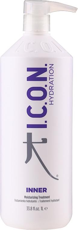 Mascarilla restauradora de cabello con proteínas de seda, de trigo, amioácidos y aceite de babasú - I.C.O.N Inner Home Moisturizing Treatment — imagen N1