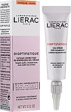 Perfumería y cosmética Gel-crema energizante para contorno de ojos con cafeína pura y vitamina C - Lierac Dioptifatigue Fatigue Correction Re-Energizing Gel-Cream