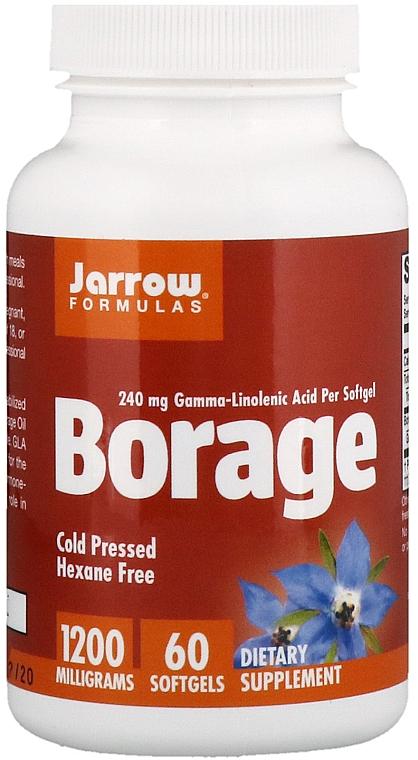 Complemento alimenticio en cápsulas borraja - Jarrow Formulas Borage GLA-240