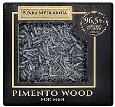 Perfumería y cosmética Champú sólido con aceite de cáñamo y carbón activado - Stara Mydlarnia Pimento Wood Shampoo Bar