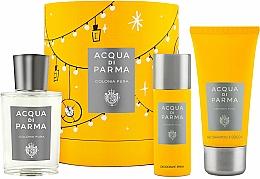 Perfumería y cosmética Acqua Di Parma Colonia Pura - Set (agua de colonia/100ml + champú y gel de ducha/75ml + desodorante/50ml)