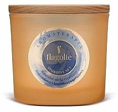 Perfumería y cosmética Vela aromática en tarro con aceites esenciales - Flagolie Fragranced Candle Rest Sleep