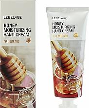 Perfumería y cosmética Crema de manos hidratante con extracto de oliva y aloe vera, aroma a miel - Lebelage Honey Moisturizing Hand Cream