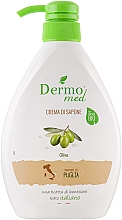 Perfumería y cosmética Jabón cremoso con aceite de oliva - Dermomed Oliva Cream Soap